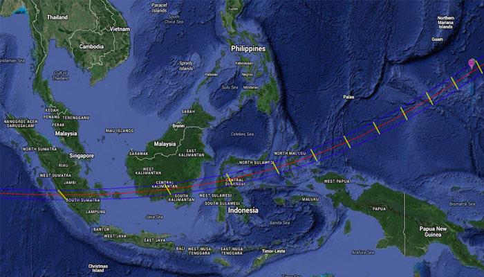 03 -- Wilayah GMT di Indonesia (Foto langitselatan.com)