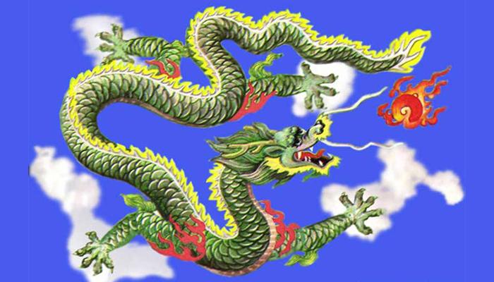 Mitos Naga akan menelan Matahari (Foto: weibo.com)