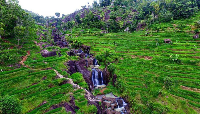 17 Jogja_Air Terjun Kedung kandang Nglanggeran Gunung Kidul Yogyakarta