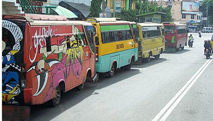 Bus Kota Ngetem (Foto: rmolsumsel.com)