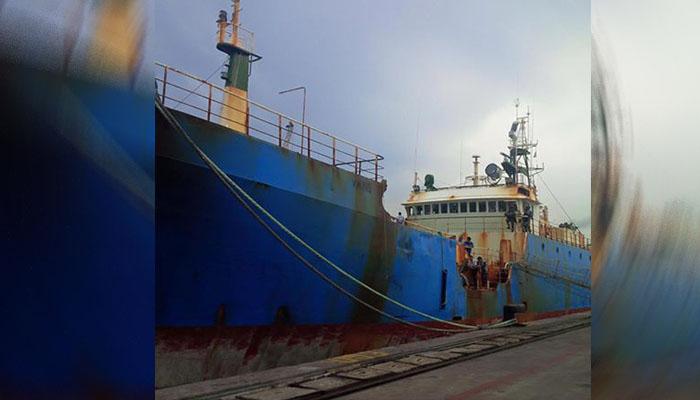 Kapal V Viking Lagos Berbobot mati 1.320 ton