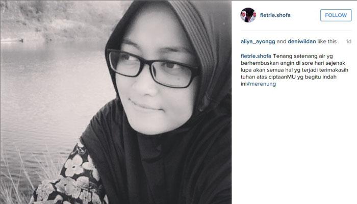 Merenung sembari intropeksi (Foto: Instagram/fietir.shofa)