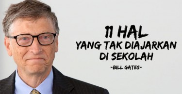 Ujaran Bill Gates