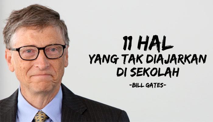 Ujaran Bill Gates