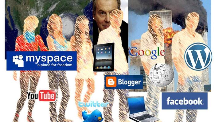 Antusias dengan Sosial Media  (Foto: wordpress/managementpocketbooks)