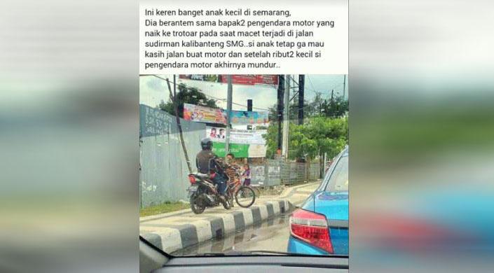 Bocah Penghadang Sepeda Motor 24