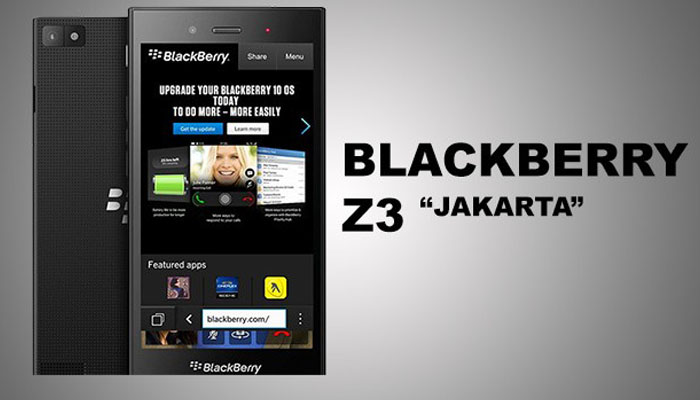 Kenangan Blackberry BB Z3 Jakarta