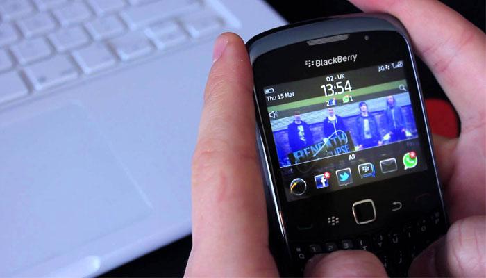 Kenangan Blackberry Trendsetter Trackpad