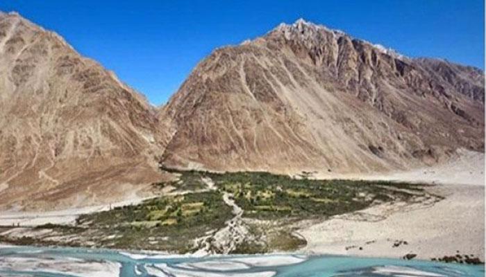 Lembah Terindah 001 Lembah Nubra di India