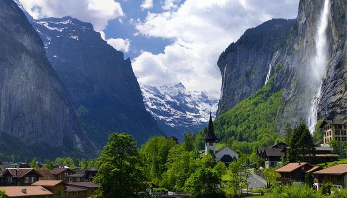 Lembah Terindah 002 Lembah Lauterbrunner, Swiss