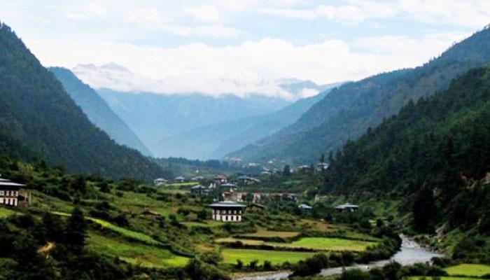 Lembah Terindah 003 Lembah Haa di Bhutan