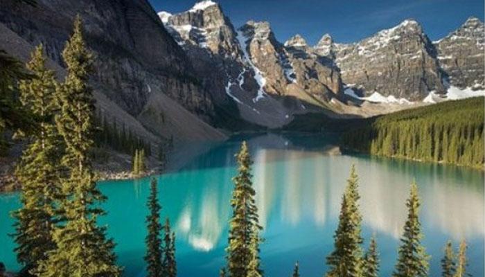 Lembah Terindah 006 Lembah Ten Peaks di Kanada