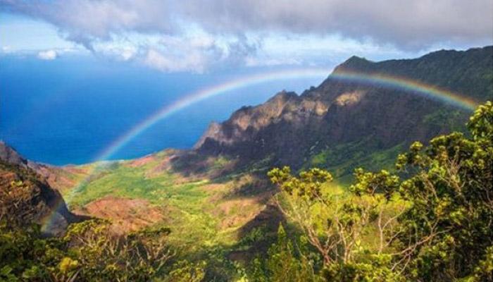 Lembah Terindah 009 Lembah-Kalalau Hawai AS