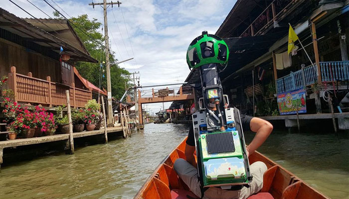 Pria SVG Jalan 500 km Hingga Arungi Sungai