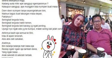 Istri Hobi Belanja, Curhatan Suami yang Heran Saat Keuangan Keluarga Dipegang Istrinya Ini Viral! Banyak Wanita Lain Senyum-Senyum Bacanya!