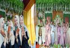 Janda Ini Nikah Lagi Bareng 3 Anak Gadisnya, Cara Unik Hemat Biaya Pernikahan! Begini Kisahnya yang Viral!